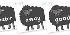 Next 200 Common Words on Baa Baa Black Sheep