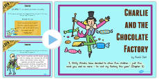 Australia - Drama Activity PowerPoint to Support Teaching on Charlie and the Chocolate Factory