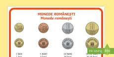Monede românești - Planșă