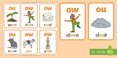 * NEW * My ow Sound Family Flashcards