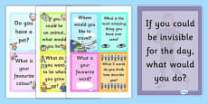 Spark A Conversation Prompt Cards