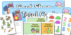 Card Shop Role Play Pack
