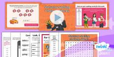 PlanIt Y3 Term 1B W6: Statutory Spelling Challenge Words Spelling Pack