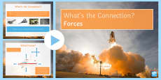 Forces What's the Connection? PowerPoint