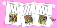 Rapunzel Number Sequencing Puzzle