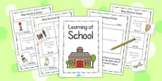 New EAL Starter Learning at School Booklet