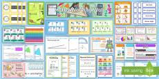 LKS2 Maths Working Wall Display Pack