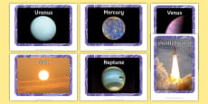Space Display Photos