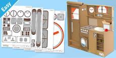 Enkl Kitchen Playset Decals Printable