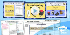 PlanIt - Science Year 4 - Electricity Lesson 6: Investigating Switches Lesson Pack