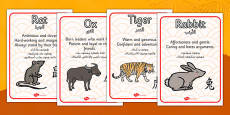 Chinese New Year Zodiac Animal Characteristics Arabic Translation