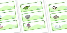 Ash Tree Themed Editable Drawer-Peg-Name Labels