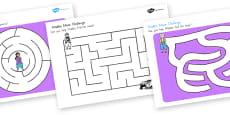 Aladdin Differentiated Maze Activity Sheets (Australia)
