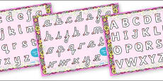 Fairy Themed Letter Writing Activity Sheet