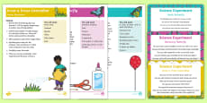 EYFS Science Experiments Resource Pack to Support Teaching on The Crunching Munching Caterpillar