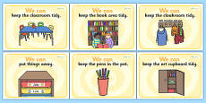 We Can Classroom Rule Display Posters