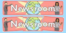 Newsroom Display Banner
