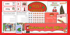 Christmas Post Office Role Play Pack