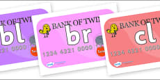 Initial Letter Blends on Debit Cards