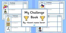 Editable Challenge Book