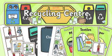 Recycling Centre Role Play Pack