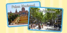 Barcelona Display Photos