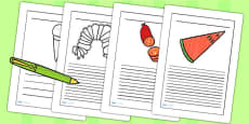 Story Writing Frames to Support Teaching on The Very Hungry Caterpillar
