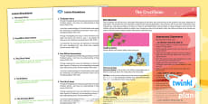 * NEW * Second Level RME Year 6 The Crucifixion CfE  PlanIt Overview