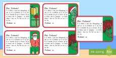 Te Reo Māori Christmas Note Labels Te Reo Maori