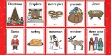 Christmas Themed Display Posters