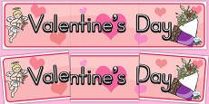 Australia - Valentine's Day Display Banner