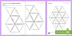 The Atomic Model Tarsia Triangular Dominoes