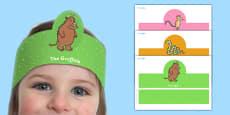 The Gruffalo Role Play Headbands