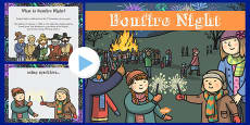 EYFS All About Bonfire Night PowerPoint