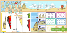 * NEW * EYFS Sand Area Classroom Set Up Pack
