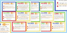 Mental Maths Challenge Cards