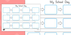 Individuals Visual Timetable Template