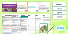 Y3 Rocks and Minerals: Activity Plan 1 PlanIt Guided Reading Pack to Support Teaching on Rocks and Minerals