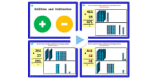 Year 3 Addition and Subtraction Lesson 3c Adding 3 and 2 Digit Numbers With Carrying Units PowerPoint