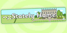 Stately Home Role Play Banner