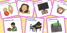 Fill In The Sentence Reflexive Pronouns Cards