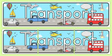 Australia - Transport Display Banner