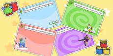 Winter Olympics Playdough Mats