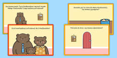 Challenge Cards Goldilocks Role Play Polish