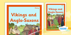 History: Vikings and Anglo-Saxons LKS2 Unit Book Cover