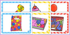 3rd Birthday Party Place Mats