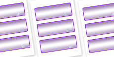 Hercules - Star Constellation Themed Editable Drawer-Peg-Name Labels (Colourful)