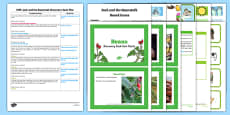 EYFS Jack and the Beanstalk Discovery Sack Plan and Resource Pack