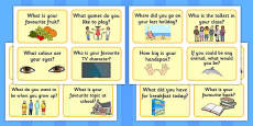 Question Prompt Cards