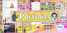 Art: Portraits KS1 Unit Additional Resources